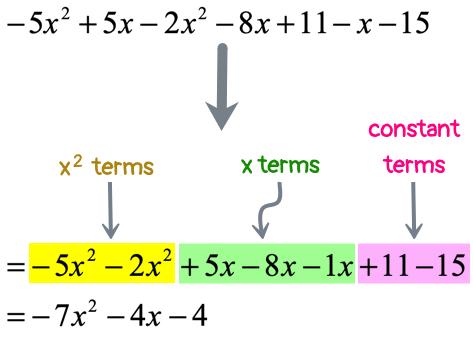 =(-7x^2)-(4x)-4