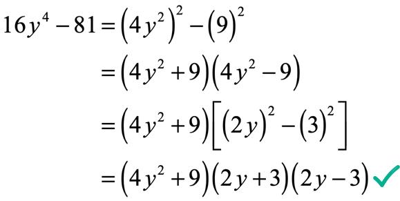 16y^4-81=(4y^2+9)(2y+3)(2y-3)