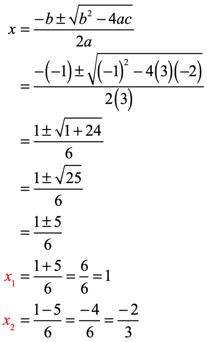 x sub 1 is equal to 1 and x sub 2 is equal to negative 2 over 3