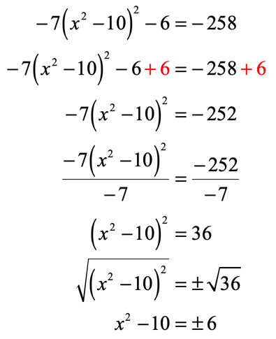 Solving Quadratic Equations by Square Root Method - ChiliMath