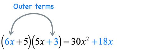 6x*3 = 18x