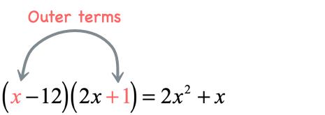 x times 1 = x