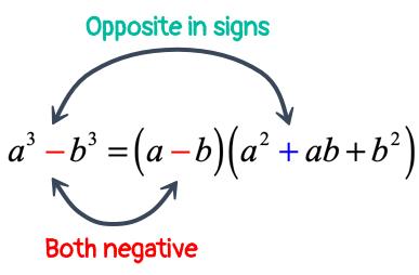 a^3-b^3=(a-b)(a^2+ab+b^2)