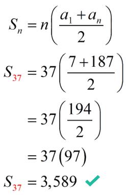 37th partial sum equals 3,589