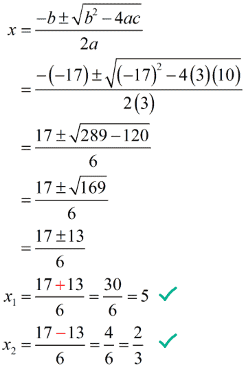 x sub 1 equals 5, and x sub 2 equals 2/3